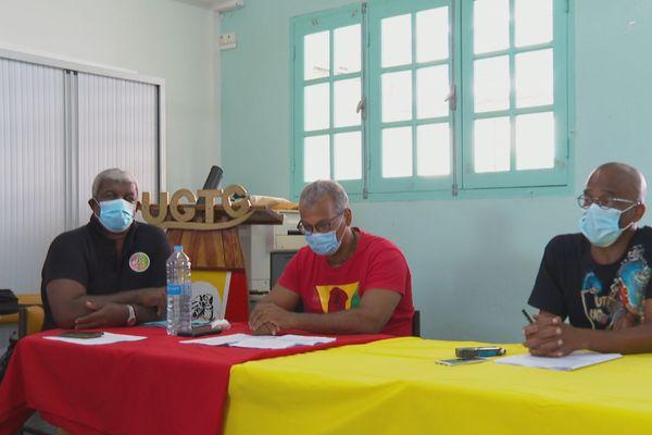 Conf de presse travailleurs de la santé