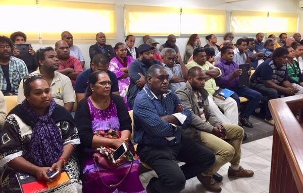 Discours de Jacques Lalié à la province îles