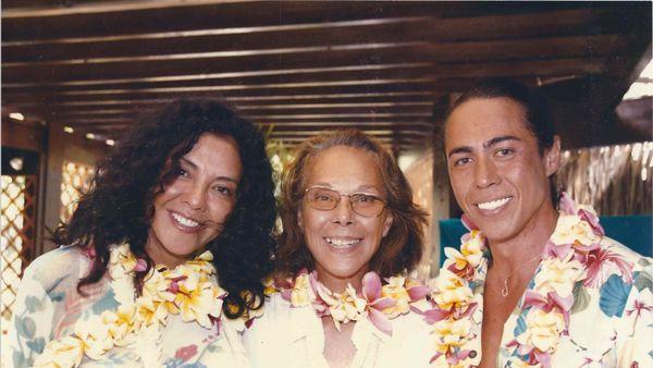 Maea Flohr et ses enfants