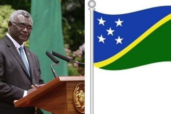 Salomon Premier ministre Sogavare