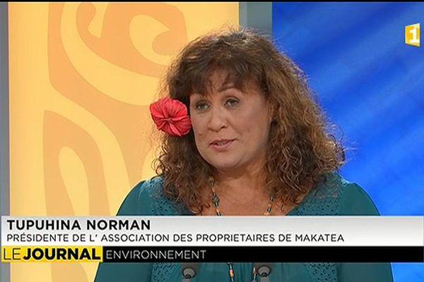 Invitée du journal : Tupuhina Norman, Présidente de l'Association des Propriétaires de Makatea