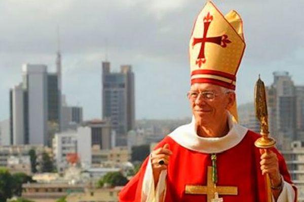 Cardinal de l'île Maurice. Maurice Piat