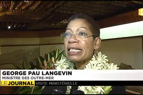 George Pau Langevin : « L'Etat reste présent en Polynésie française »