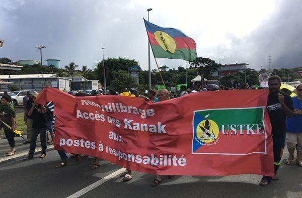 1er mai : marche de l'USTKE 2018