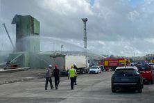 Les pompiers ont été dépêchés sur place ainsi que des agents de police.