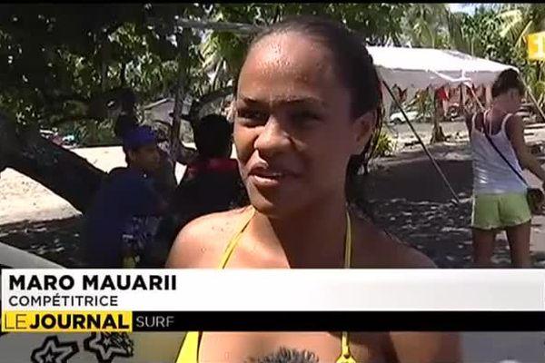 Surf - Tahiti Pro festival Juniors : deux tahitiennes encore en course