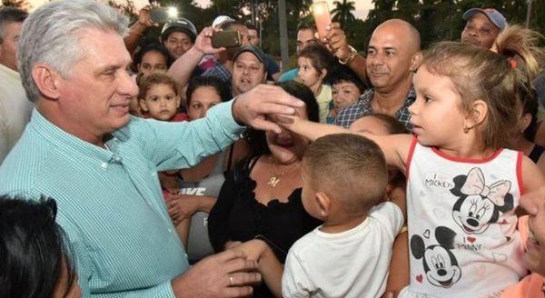 Cuba président Miguel Diaz-Canel