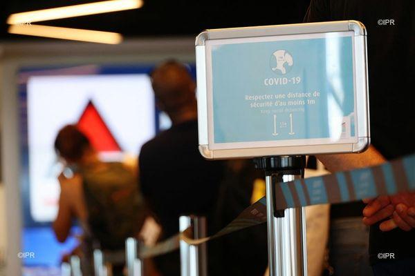 covid coronavirus aeroport septaine gestes barrière