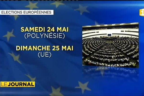 Quatre listes déposées pour les Européennes
