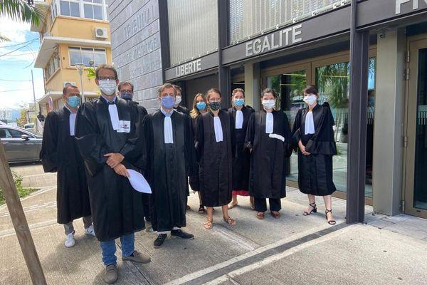 Magistrats de Guadeloupe contre la politique du garde des sceaux