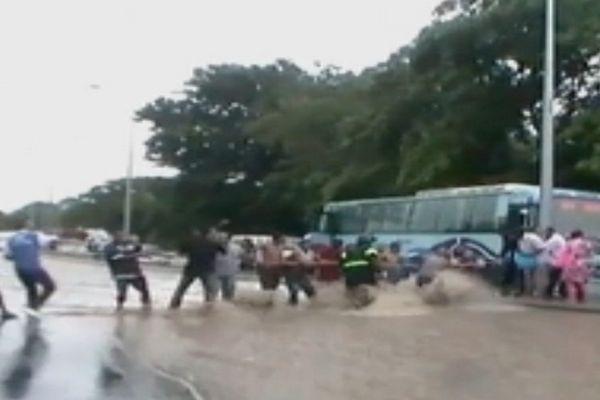 Inondations Ile Maurice