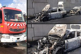 Incendie voitures