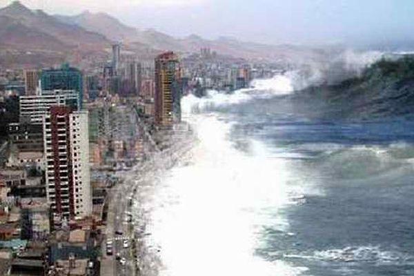 Tsunami en Inde