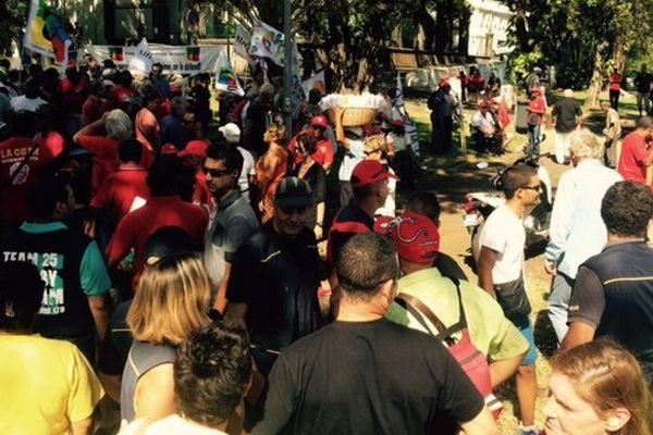 Manifestation Austérité