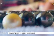 Les artisans de Takapoto exposent