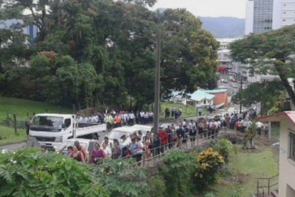 Evacuation à Suva