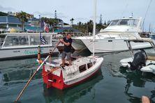 Yann Quenet et son Baluchon ont repris la mer ce 8 mai 2021