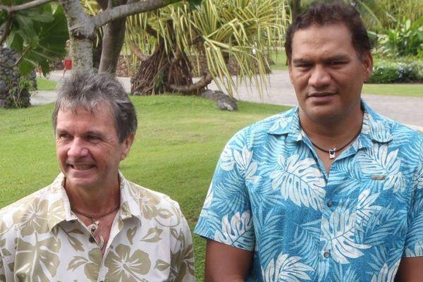 Tauhiti Nena et Jacky Bryant ensembles aux territoriales