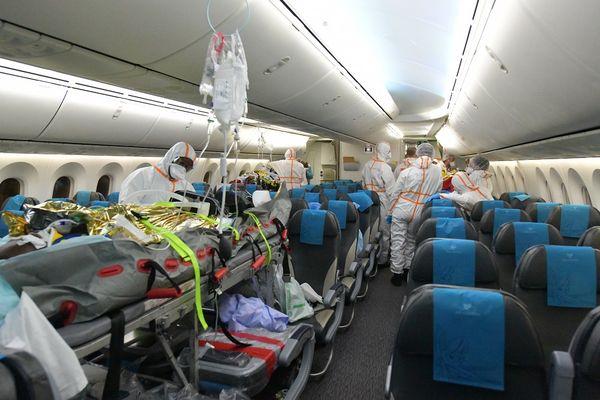 A bord du Boeing 787 d'Air Austral