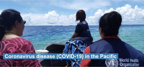 Coronavirus, Covid-19, visuel de l'OMS dans le Pacifique