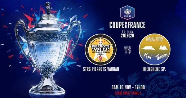 Affiche du septième tour de la coupe de France de foot 2019