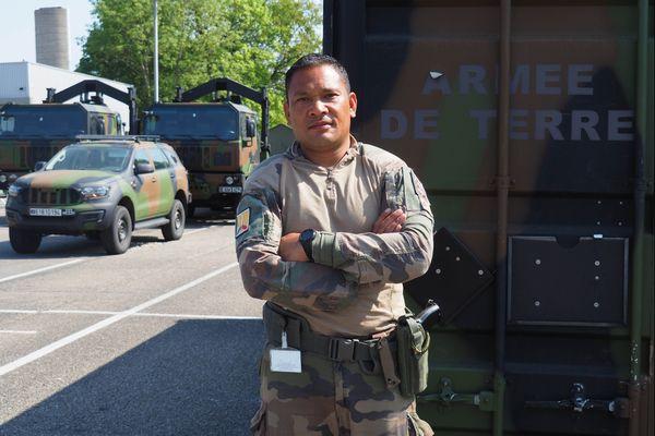 Calédoniens ailleurs : sergent Yacinthe, engagé pour sauver des vies