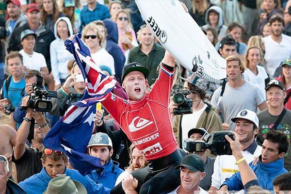 Mick Fannning vainqueur du Quicksilver pro France
