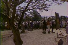 devant le Lycée du Butor