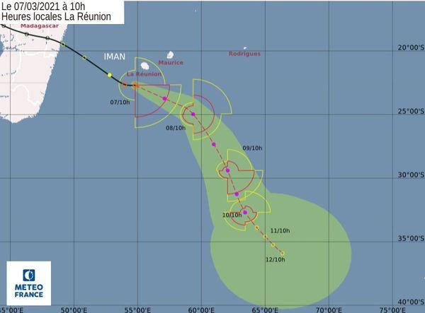 tempête tropicale modérée Iman 070321