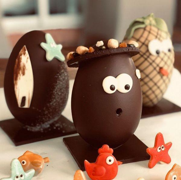 Oeufs chocolat David Vignau