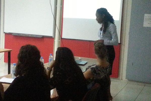 Naïka Raqui, étudiante en Master II sécurité en entreprise
