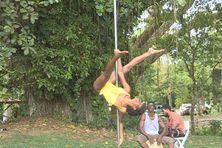 une discipline qui allie danse et gymnastique acrobatique