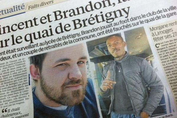 Article Parisien Brandon victime Paris Limoges