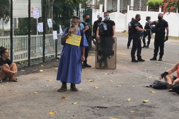 Manifestations aux jardins de Manapany