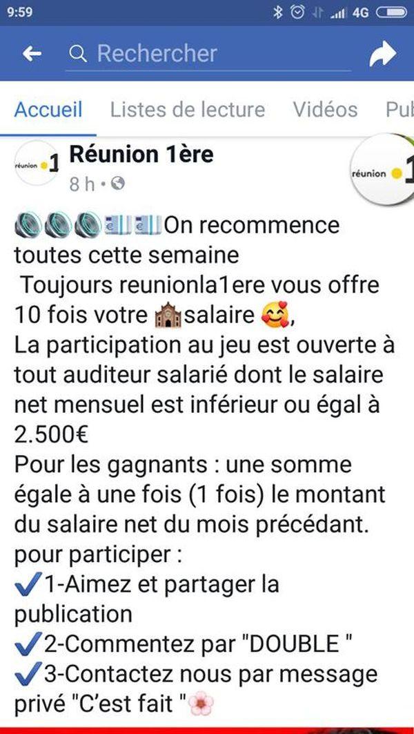 Arnaque FB