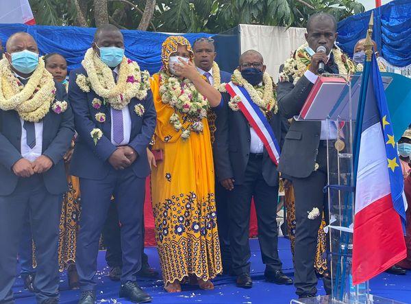 Installation du maire de Chiconi Mohamadi Madi Ousseni