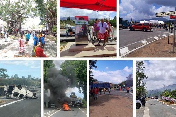 Dossier usine du Sud : blocages routiers sur plusieurs axes