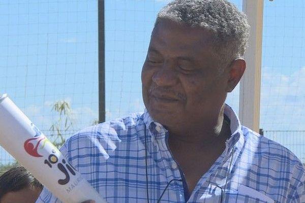 JIOI 2019  remise à Mayotte de la flamme des jeux des iles 150619
