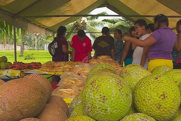 Un festival pour découvrir les différentes variétés de uru et de taro