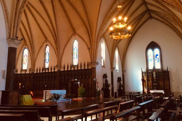 Cathédrale Nouméa intérieur