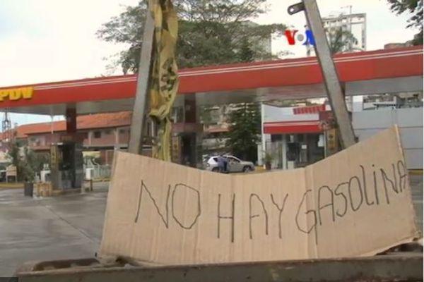 Venezuela pénurie de carburant