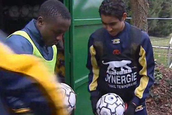 Dimitri Payet gonfle des ballons en 2006 au FC nantes