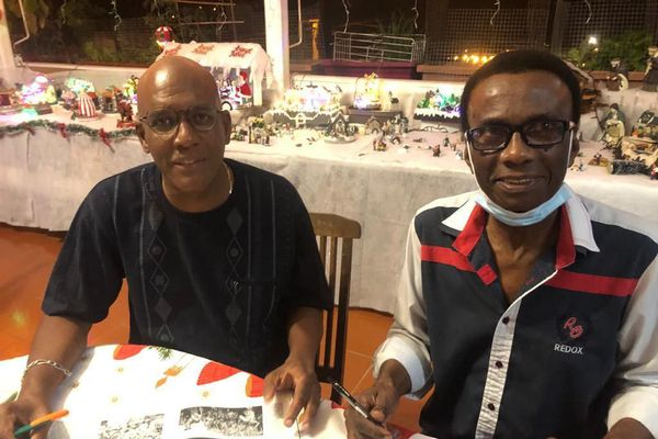 ean-Jacques Toussaint et Guy Méthalie (à droite)