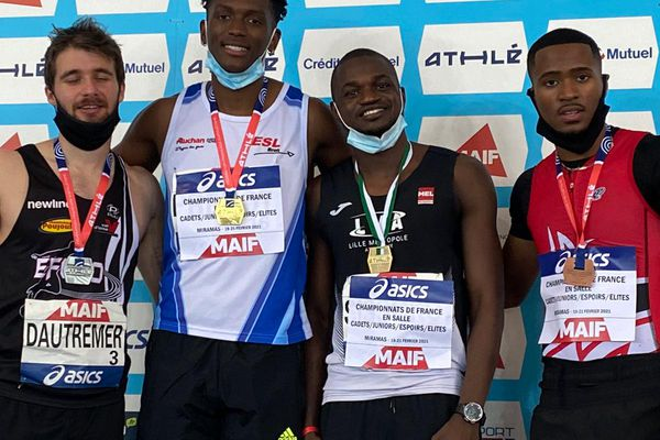 Loïc Prévot, champion de France élite du 200 m
