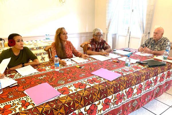 La commission de contrôle électorale réunie à Papeete le 21 février