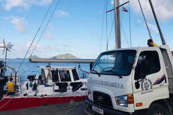 Le voilier va mettre le cap sur les îles Actéon