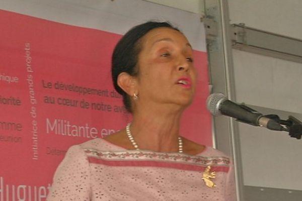 Huguette Bello confirme sa candidature aux Régionales