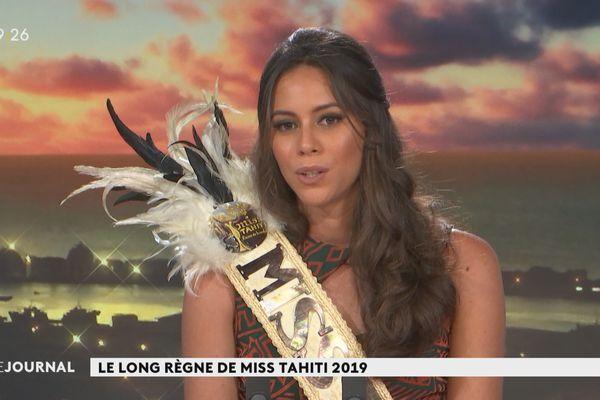Le long règne de Miss Tahiti 2019