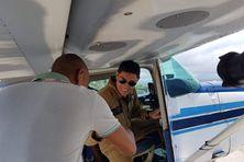 Retour aux sources pour Sébastien Nativel, ambassadeur des avions Rafale.