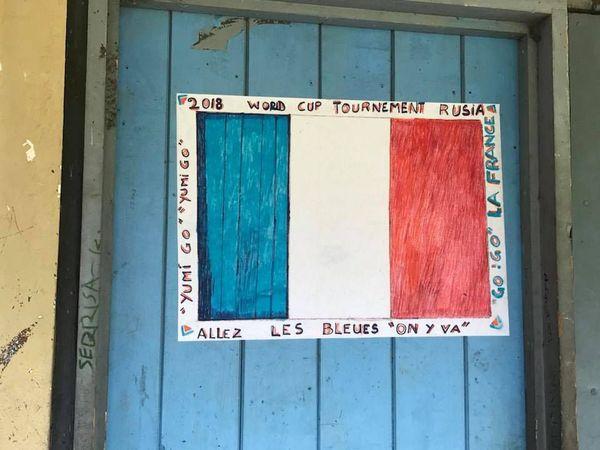 Foot Soutien France. Tanna. Vanuatu